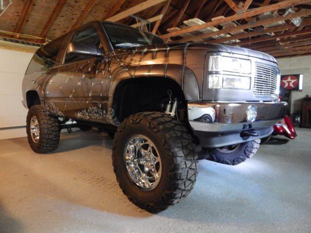 1994 blazer 2 door 4x4 custom lifted yukon tahoe fullsize
