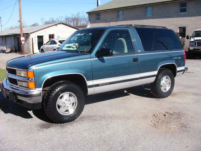 1994 chevrolet blazer 4wd silverado 2 door 6 5l turbo. Black Bedroom Furniture Sets. Home Design Ideas