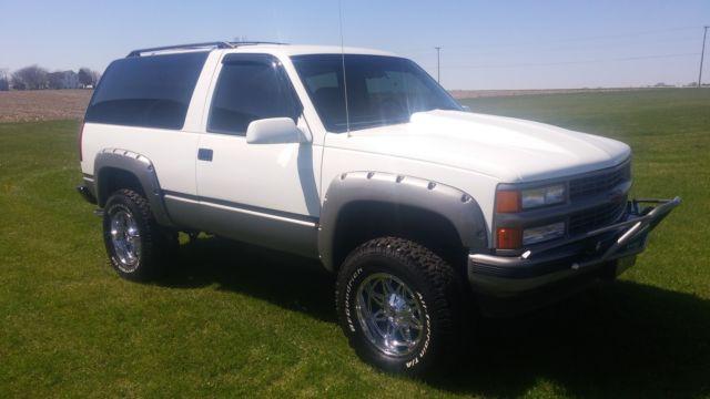 1994 Chevrolet Blazer Silverado Sport Utility 2-Door 5 7L