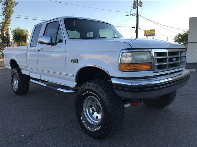Ford F X Lifted Extra Cab Shortbed Rust Free on 1994 Ford F 150 351 Engine