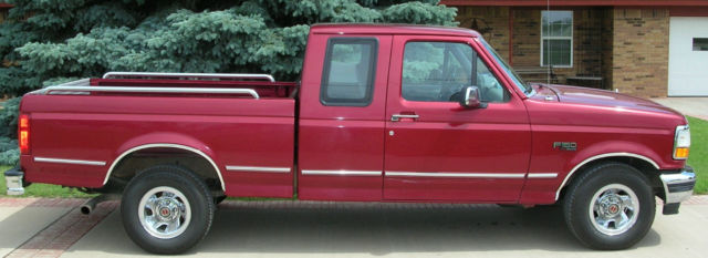 Ford F Xlt Supercab Original Owner Excellent Condition No Rust Ever on 1994 Ford F 150 Tailgate Diamond Plate