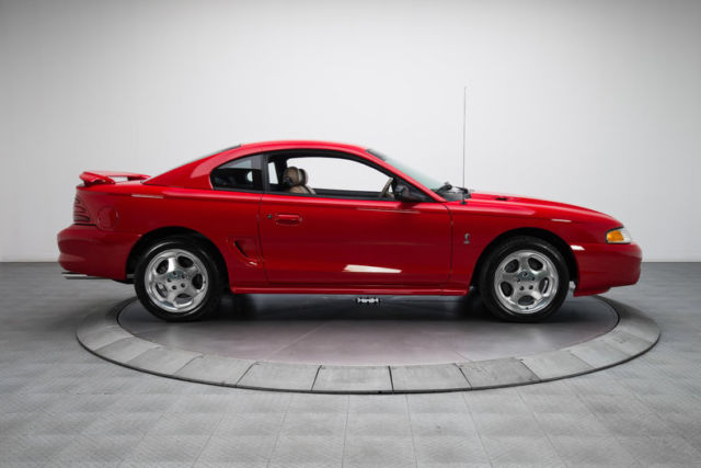 1994 ford mustang cobra 2195 miles rio red coupe 5 0 liter v8 5 speed manual. Black Bedroom Furniture Sets. Home Design Ideas