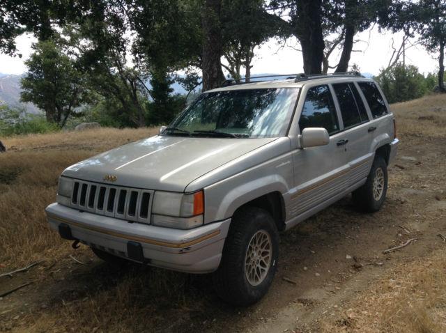 1994 jeep grand cherokee limited sport utility 4 door 5 2l. Black Bedroom Furniture Sets. Home Design Ideas