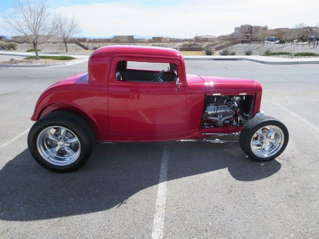 32 ford 3 window coupe milano red gray zz4 385 hp show me for 32 ford 5 window coupe