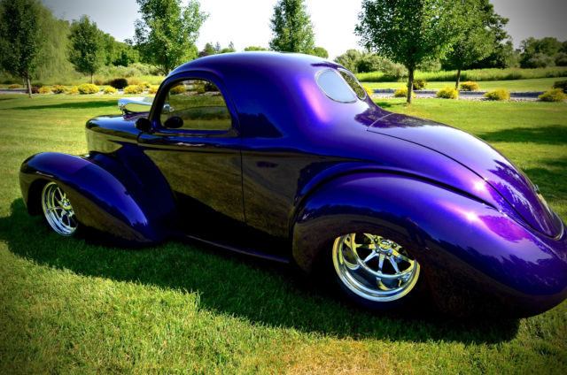 41 Willys Pro Street Coupe