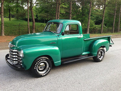 Chevy Pick Up Truck Step Side S Manual Dual Carbs Rust Free Rock Solid on 1948 Ford Truck Vin Number Location