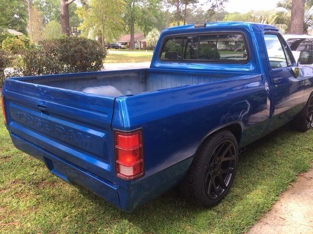 Lowered Dodge Ram 1500 >> 89 Dodge D150 short bed custom