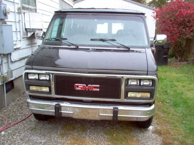 92 GMC VANDURA CONVERSION VAN