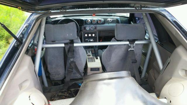 92 mustang gt fox body Single gt45 Turbo, intercooler, 6pt ...
