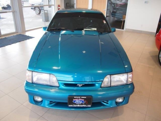 93 mustang cobra svt 5 0 rare teal blk interior. Black Bedroom Furniture Sets. Home Design Ideas
