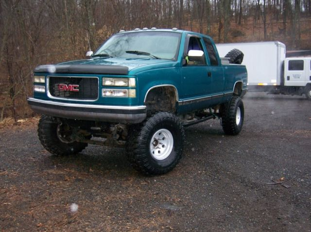 94 chevrolet lifted extended cab 4x4 mud, snow, truck NO ...