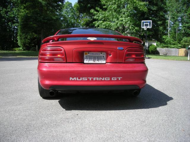 94 Mustang Gt Red Street Strip Drag Car Nitrous 2