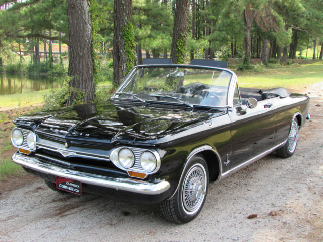 Absolutely Beautiful Triple Black 1964 Corvair Monza