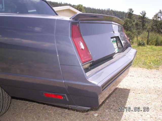 Attention Getting Blue Blue 1984 Monte Carlo Ss Rare Bench