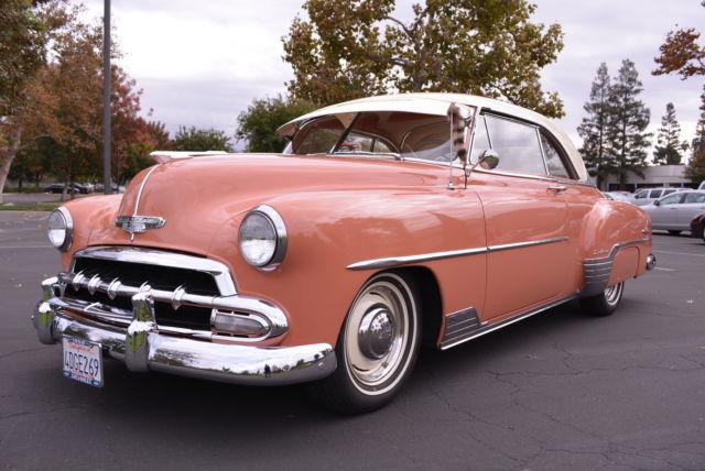 Awesome 1952 chevy bel air 2 door hardtop for 1952 chevy two door hardtop