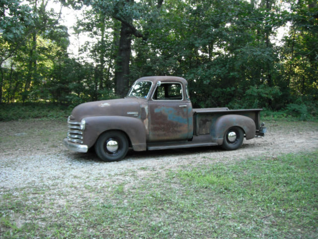 Bagged 1949 chevrolet shop truck 3100 pickup air ride 5 for 1949 chevy 5 window pickup