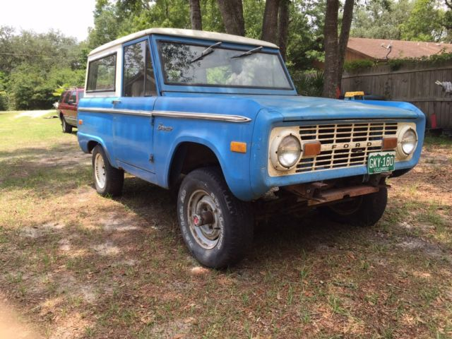 Barn Find74 STOCK BRONCO