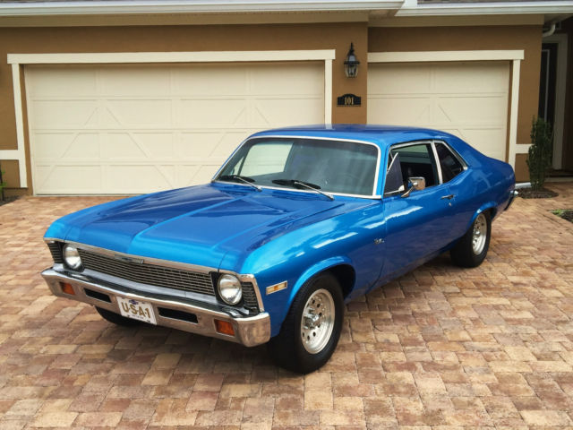 Beautiful 1972 Chevy Nova With Factory A  C  1968 1969 1970 1971 Camaro  Chevelle