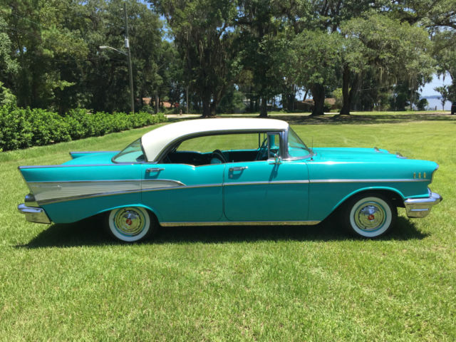 Beautiful original 1957 chevrolet bel air 4 door hardtop for 1955 chevy bel air 4 door