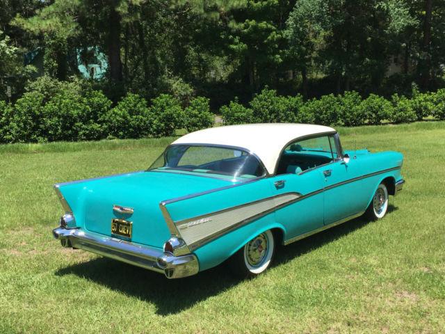 Beautiful original 1957 chevrolet bel air 4 door hardtop for 1957 belair 4 door hardtop