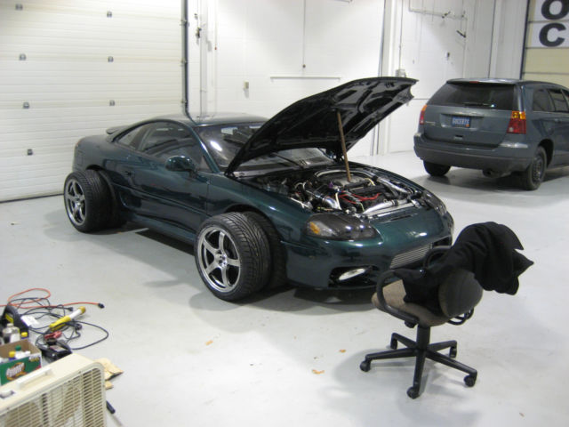 built 572 hp 1992 dodge stealth rt twin turbo 84k green extras like new. Black Bedroom Furniture Sets. Home Design Ideas