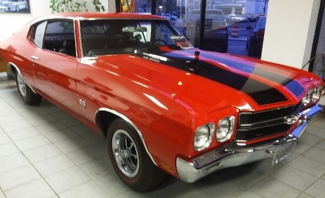 Chevelle SS 1970 454 LS6 450 H P with Original Build Sheet