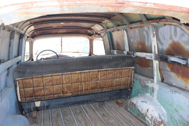 chevrolet chevy 1948 panel truck delivery 3100 project car desert auction pickup. Black Bedroom Furniture Sets. Home Design Ideas