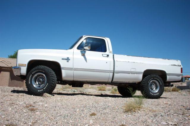 chevy/gmc 1986 chevrolet 1/2 ton pickup auto trans 4x4 a/c ... 86 chevy truck wiring diagram #14