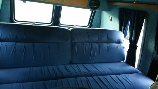 Classic 1984 Chevy G20 Conversion Van Customized By Gladiator Customs