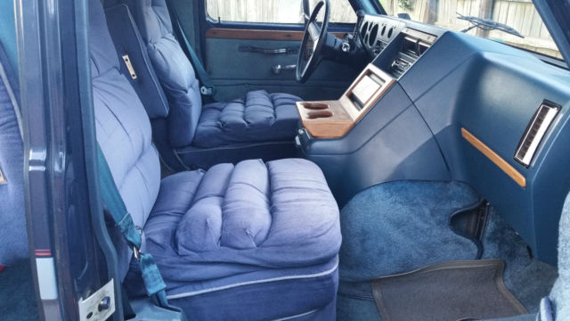 Classic 1984 Chevy G20 Conversion Van Customized By