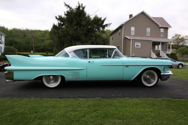 Classic Vintage 1958 Cadillac Coupe Deville