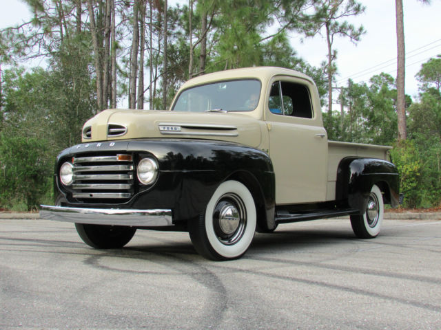 Complete Restoration Of A 1948 Ford F1 4 Speed Flathead V8