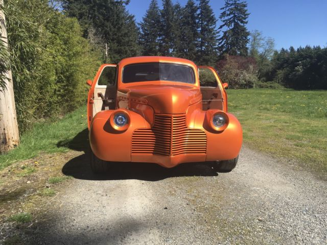 CUSTOM 1940 CHEVROLET SEDAN DELIVERY SUICIDE DOORS PPG TANGELO PEARL NO RESERVE! : ppg doors - pezcame.com