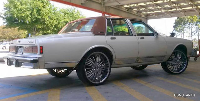 CUSTOM 1986 CHEVY CAPRICE BROUGHAM NEW 5.7L 350 TRUCK ...