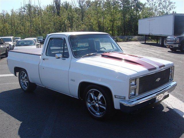East Syracuse Chevrolet >> Custom Chevrolet 1986 C10 truck Automatic RWD White Chevy 350