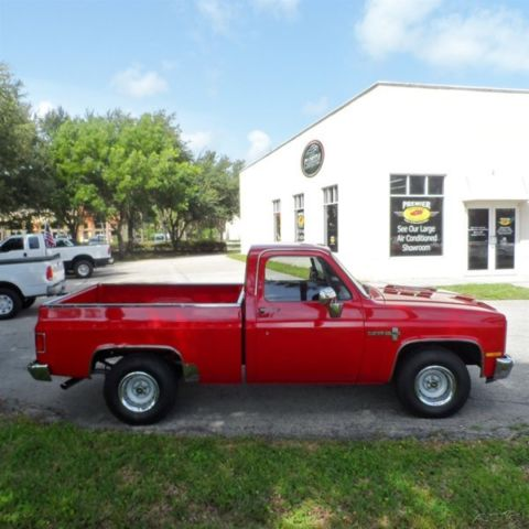 Custom Deluxe 86 Chevy C10 350 V8 Shortbed Pickup Muscle Pick Up Truck Air