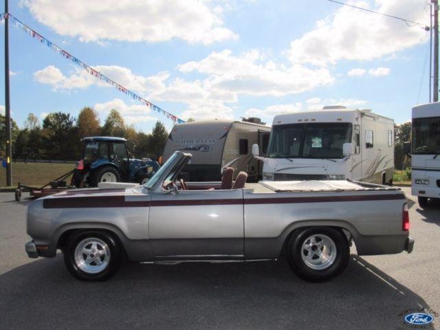 Custom Dodge Mopar Convertible Truck