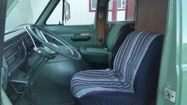 E200 Ford Econoline Camper Van Function Galley Comfortable