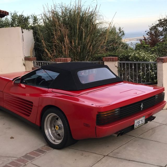Ferrari Testarossa Replica (kit Car) Convertible
