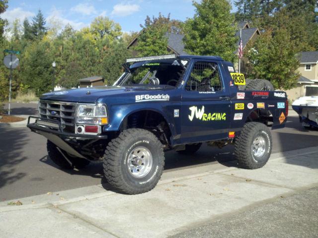 Ford Bronco Desert Race Truck Or Prerunner