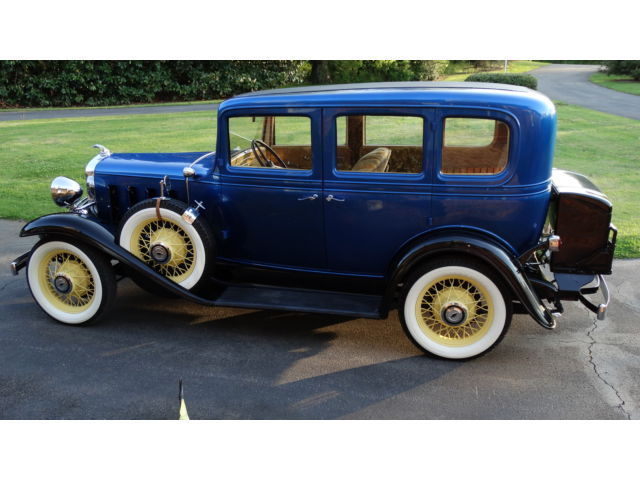 Have for sale a nice 1932 chevrolet confederate 4 door sedan for 1932 chevy 4 door sedan