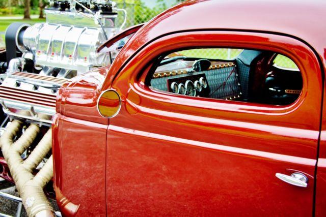 Hot Rod Rat Rod Show Car Resto Mod Hemi 32 Ford Grill