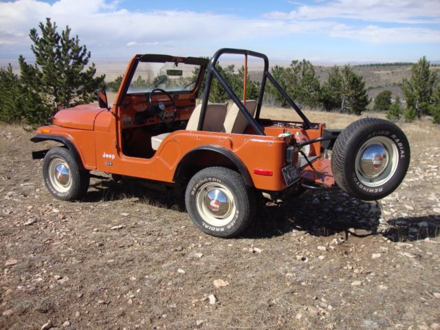 jeep 1976 cj cj 5 amc willys kaiser 4 wheel drive wrangler. Black Bedroom Furniture Sets. Home Design Ideas