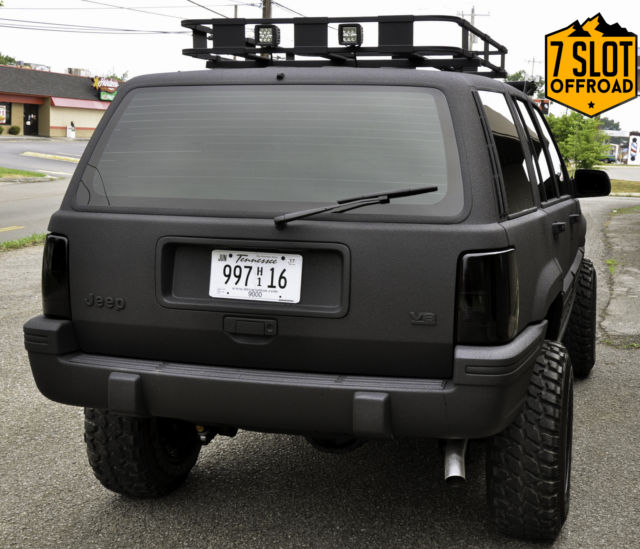 Build Jeep Grand Cherokee >> JEEP GRAND CHEROKEE LAREDO V8 ZJ CUSTOM KEVLAR RHINO LINED