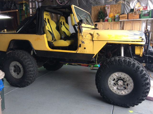 Jeep Scrambler Cj Built Rock Crawler on Jeep Engine Block Vin Number Location