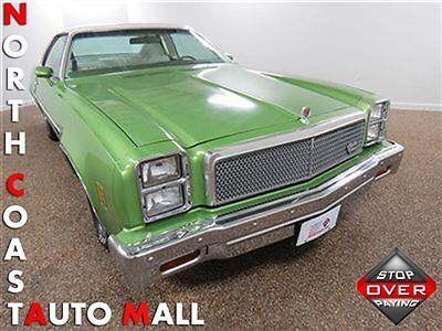 North Coast Auto Mall >> Malibu Classic 1977(77)MALIBU CLASSIC COUPE GREEN/WHITE ...
