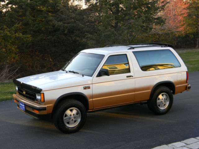 Must See   1 Owner   1989 Chevy S10 Blazer 4wd   Only 27k Actual Miles