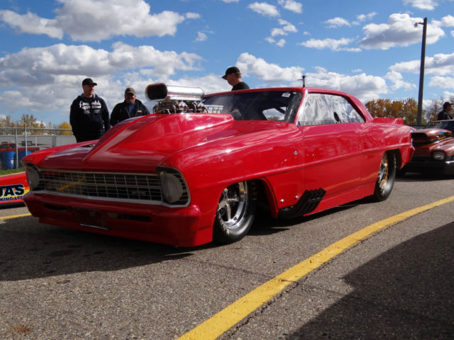 New 1967 Chevy Ii Drag Racing Car All New Best Parts