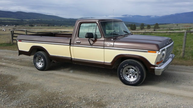 Nice 1979 Ford F150 Ranger Xlt Pickup Truck Very Straight
