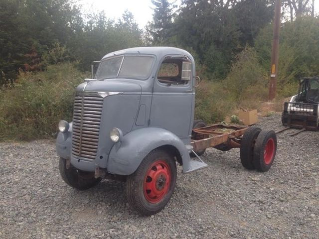 No Reserve 1939 Chevrolet Coe Cabover Truck Cab And
